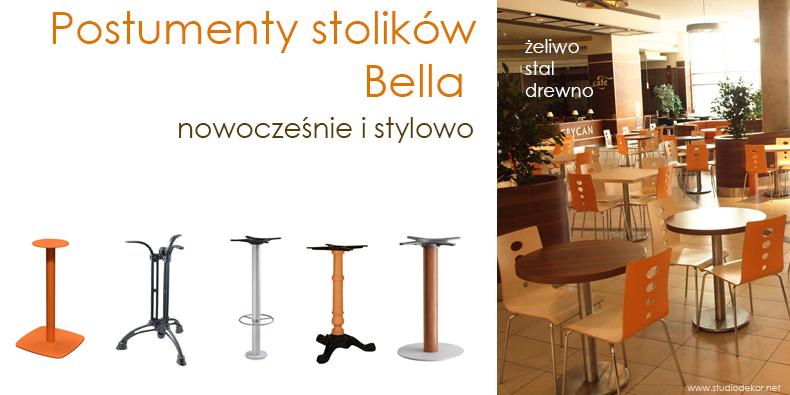 BISTRO - żeliwne podstawy stolików - Valorous.pl